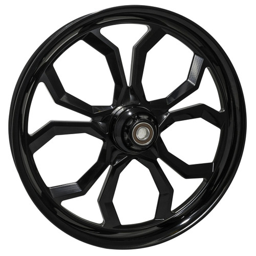 Black Road Glide Wheels Widow
