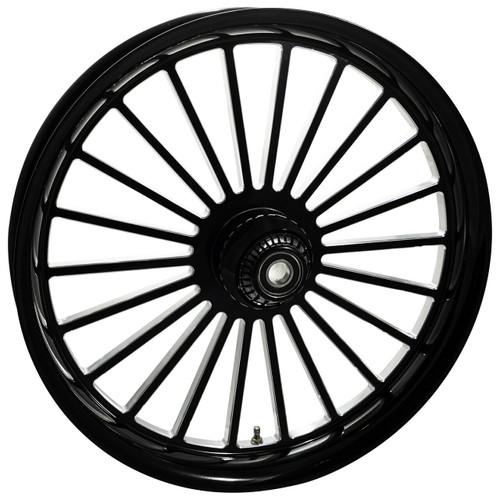 Black Contrast Road King Wheels