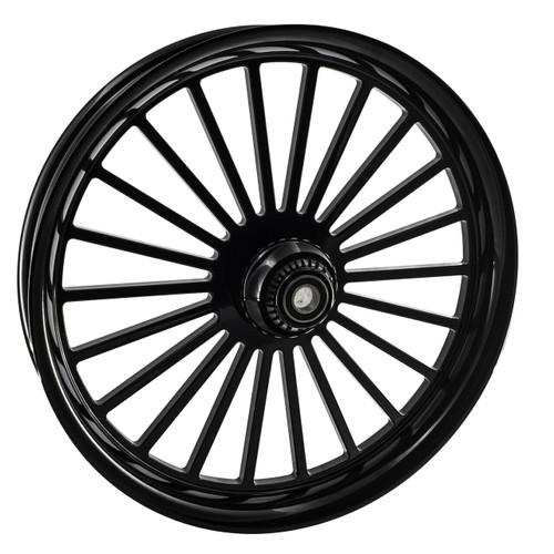 Black Road King Wheels
