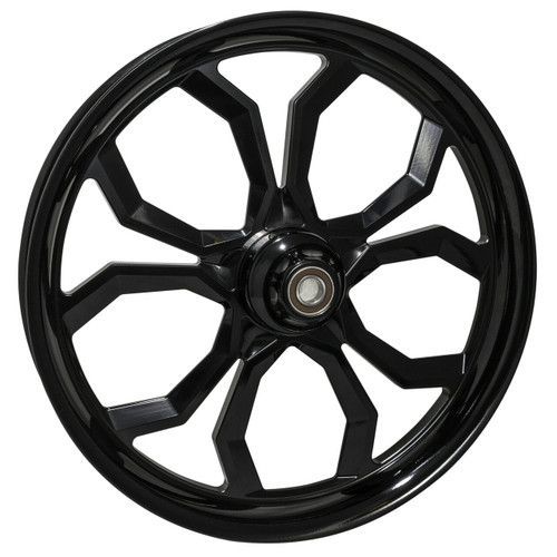 Black Road King Wheels