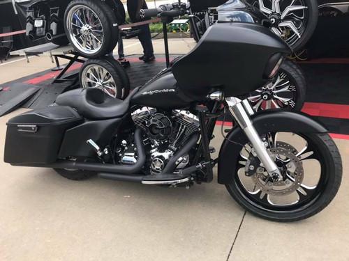 Harley Davidson Black Contrast Trike Wheels Raptor