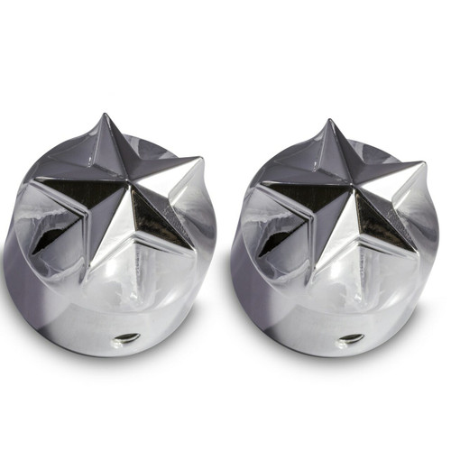 Chrome Starl Harley Davidson Road Glide front axle covers