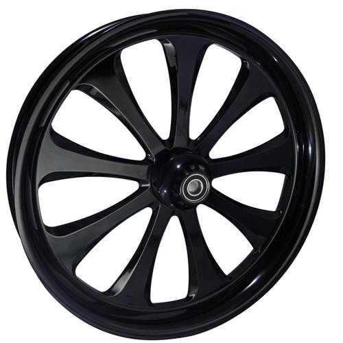 21 inch Black Street Glide Wheels by FTD Customs