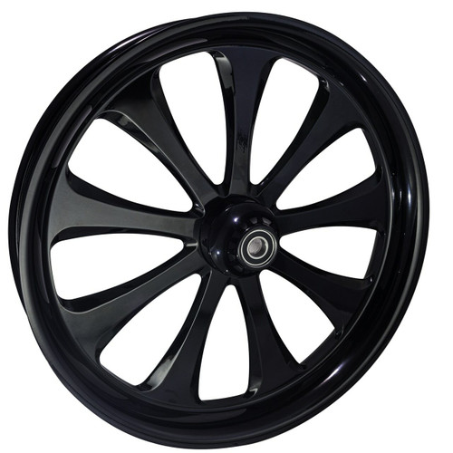 21 inch Black Road King Wheels by FTD Customs