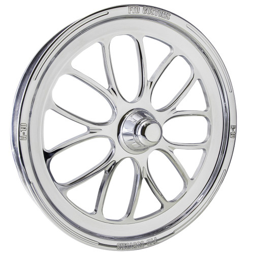A10 dragster Front Wheels Polished
