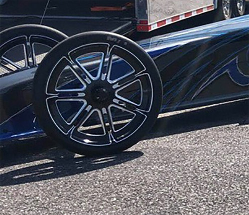 Valor 17 inch Dragster Front Wheels