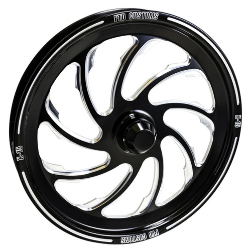 FTD customs racing wheel Dragster spindle mount front wheels