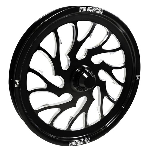 B1 Dragster Spindle mount front wheel ftd customs racing wheels