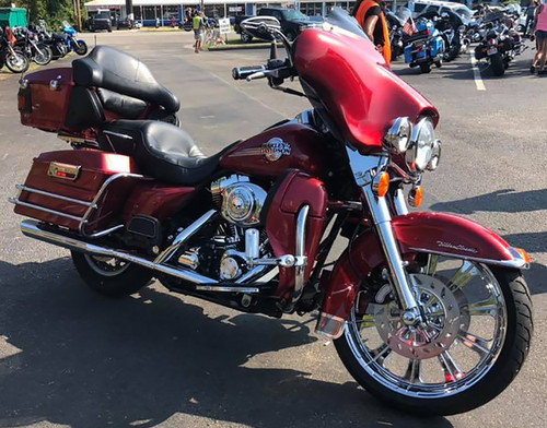 Harley Davidson Chrome Wide Tire Front Wheel -Redemption