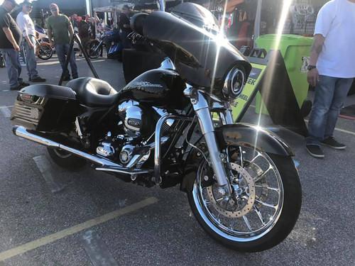 Harley Davidson Chrome Wide Tire Front Wheel -Viper