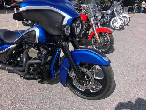 Harley Davidson Black Contrast Wide Tire Front Wheel -5 Blade