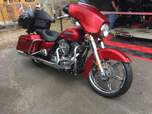 Harley Davidson Chrome Harley Trike  Wheels 6ix Shooter