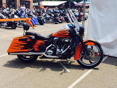 Harley Davidson Chrome Harley Trike and Freewheeler Wheels Maze