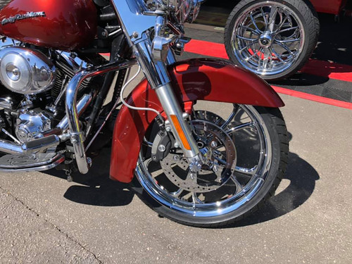 Indian Chieftain Motorcycle Wheels -Cyclone Chrome