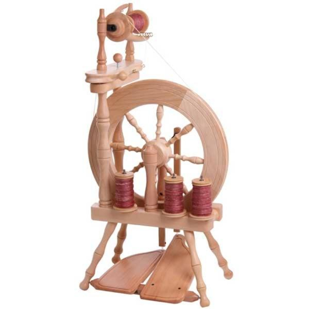 Ashford Traveller Single Drive Spinning Wheel The Woolery