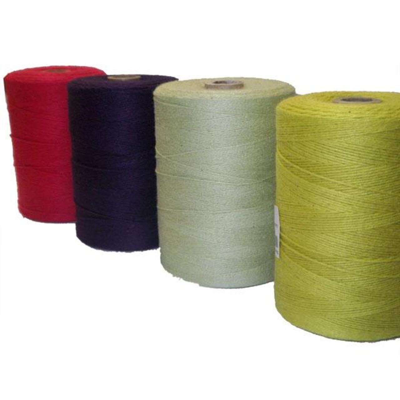 2 Tubes 84 cottonpolyester rag rug weaving warp String Yarn
