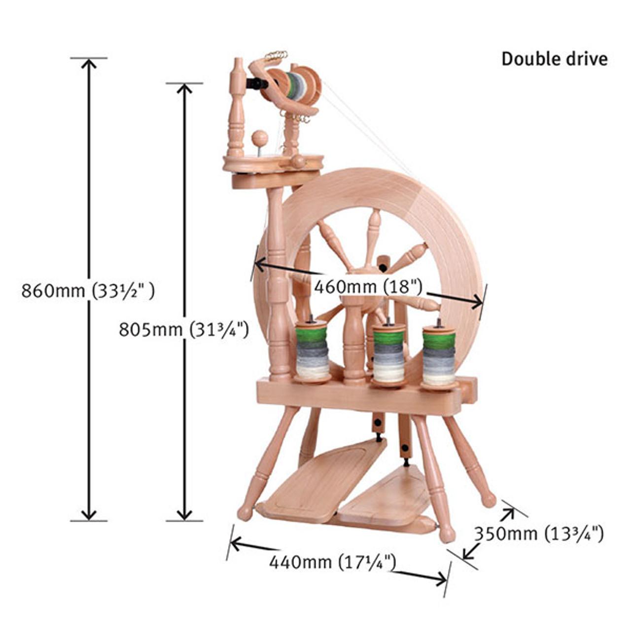 Ashford Traveller Double Drive Spinning Wheel