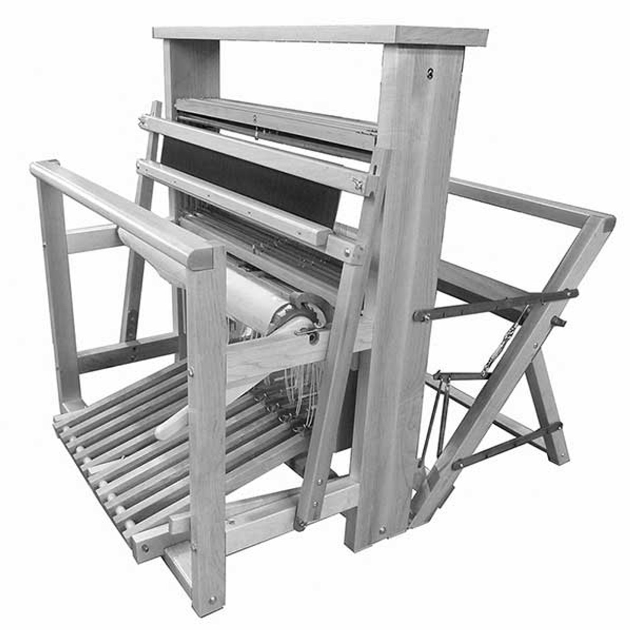 Leclerc Nilus II Jack Loom 4 Harness Floor Loom | The Woolery