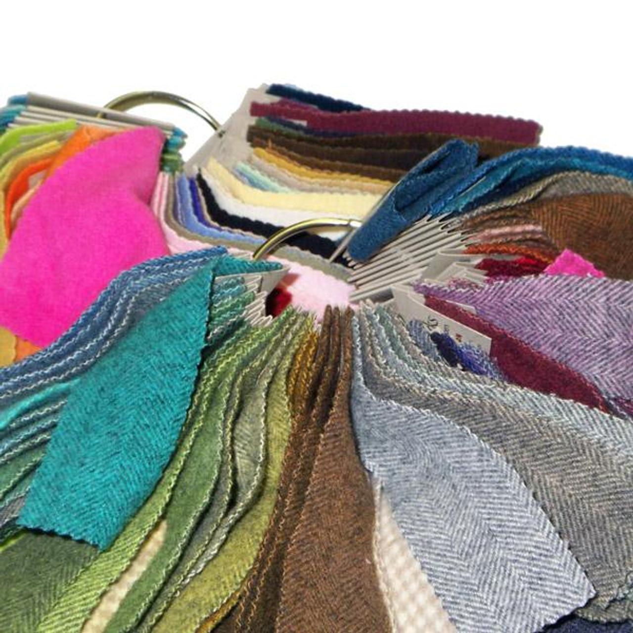 Weeks Dye Works Wool Fabric Sample Ring Card 2