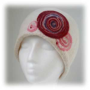 Felted Hat from Stephanie Alosso