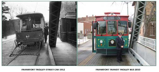 Frankfort Free Trolley Service