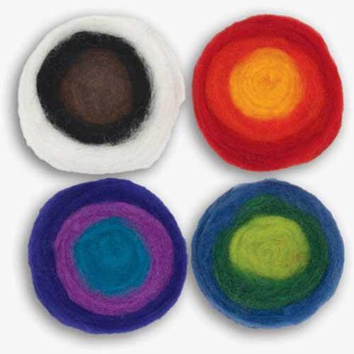 Feltworks Roving Roll Multicolor
