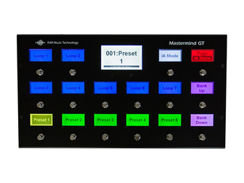 Mastermind GT/16 MIDI Foot Controller