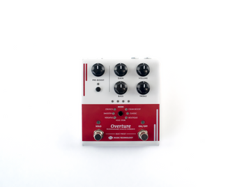 Overture - Programmable Overdrive Pedal - Front View