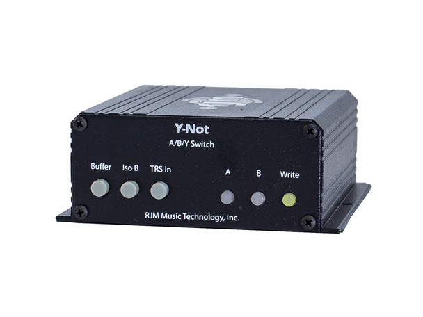Y-Not MIDI Controlled A/B/Y Switch