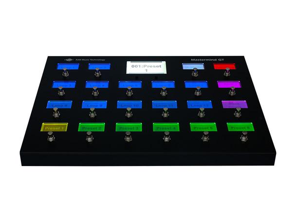 Mastermind GT/22 MIDI Foot Controller