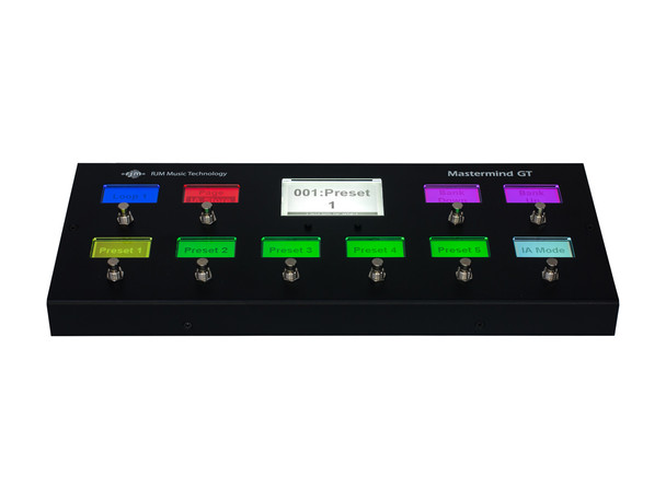 Mastermind GT/10 MIDI Foot Controller
