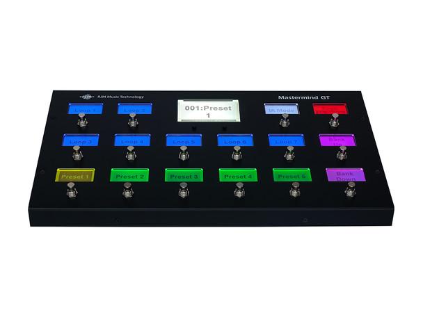 PREORDER Mastermind GT/16 MIDI Foot Controller