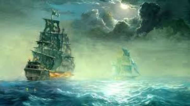 Ghostly Pirate Ship - Haunted House Halloween Sound Effects - MP3 Download