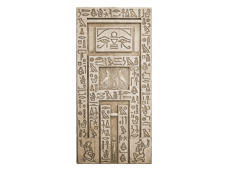 Egypt Wall   False Door (Painted)