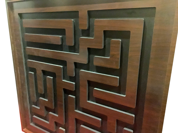 Winding Maze Escape Room Prop