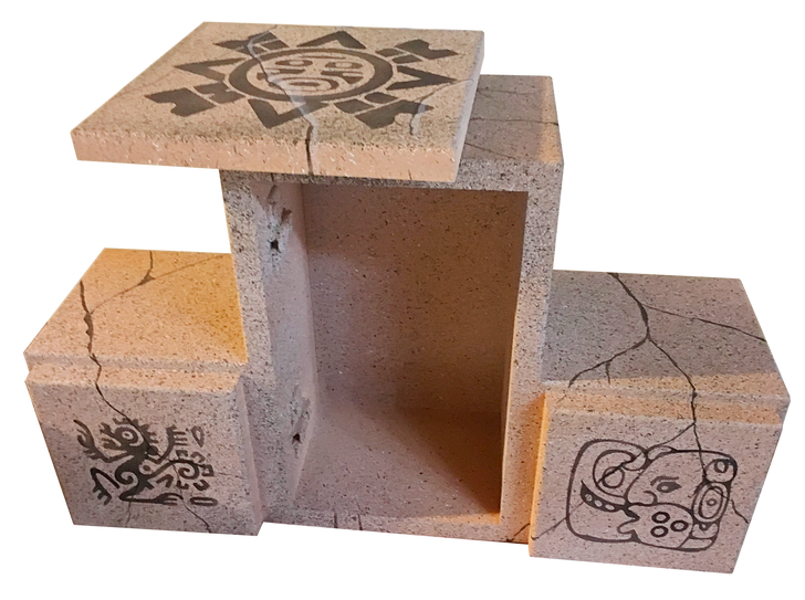 Triple Aztec Box - RFID Escape Room Prop