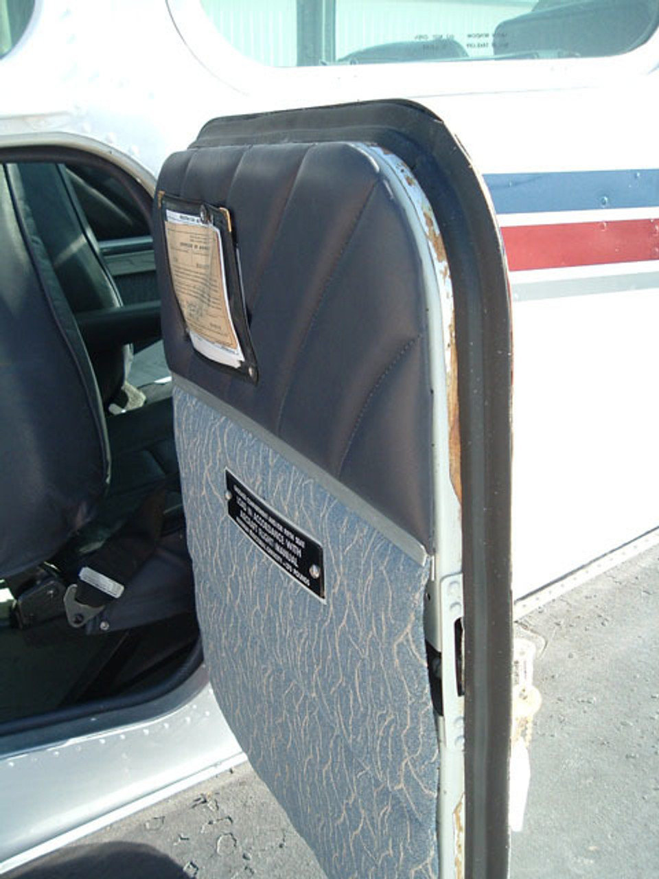 Cabin baggage door seal (Includes large door), Beech model 33, 35, 55, 95, ADS-B133