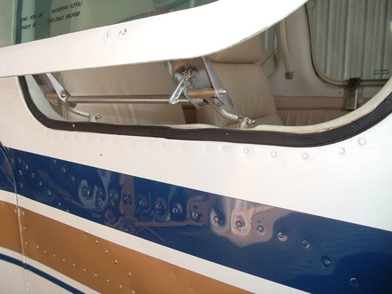 Emergency exit window seal SELF ADHESIVE, Beech models 35, 36, 55, 58, 95, (early thru 1979) models,  ADS-B131