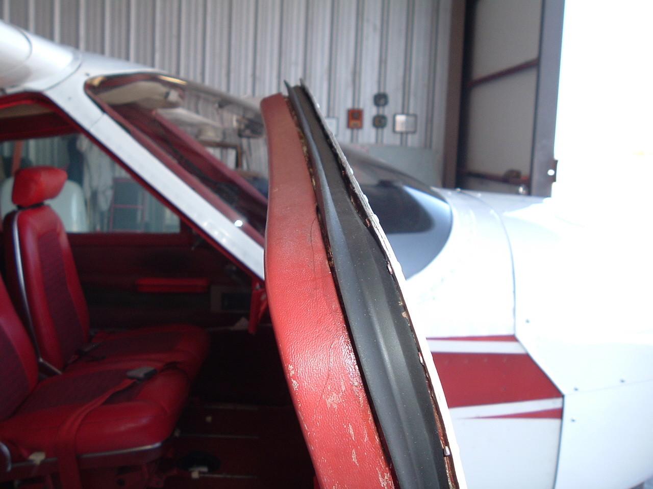 Front Entry Door Seal, Cessna 177, ADS-C1420