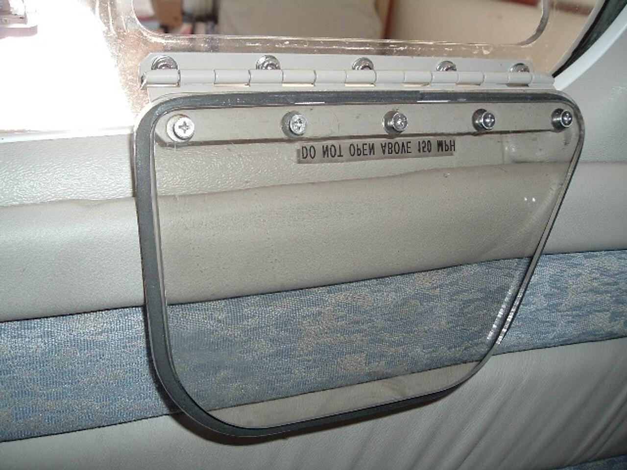 Vent Window Seal - Self Adhesive, Piper PA-28, PA-32, PA-34, ADS-P302