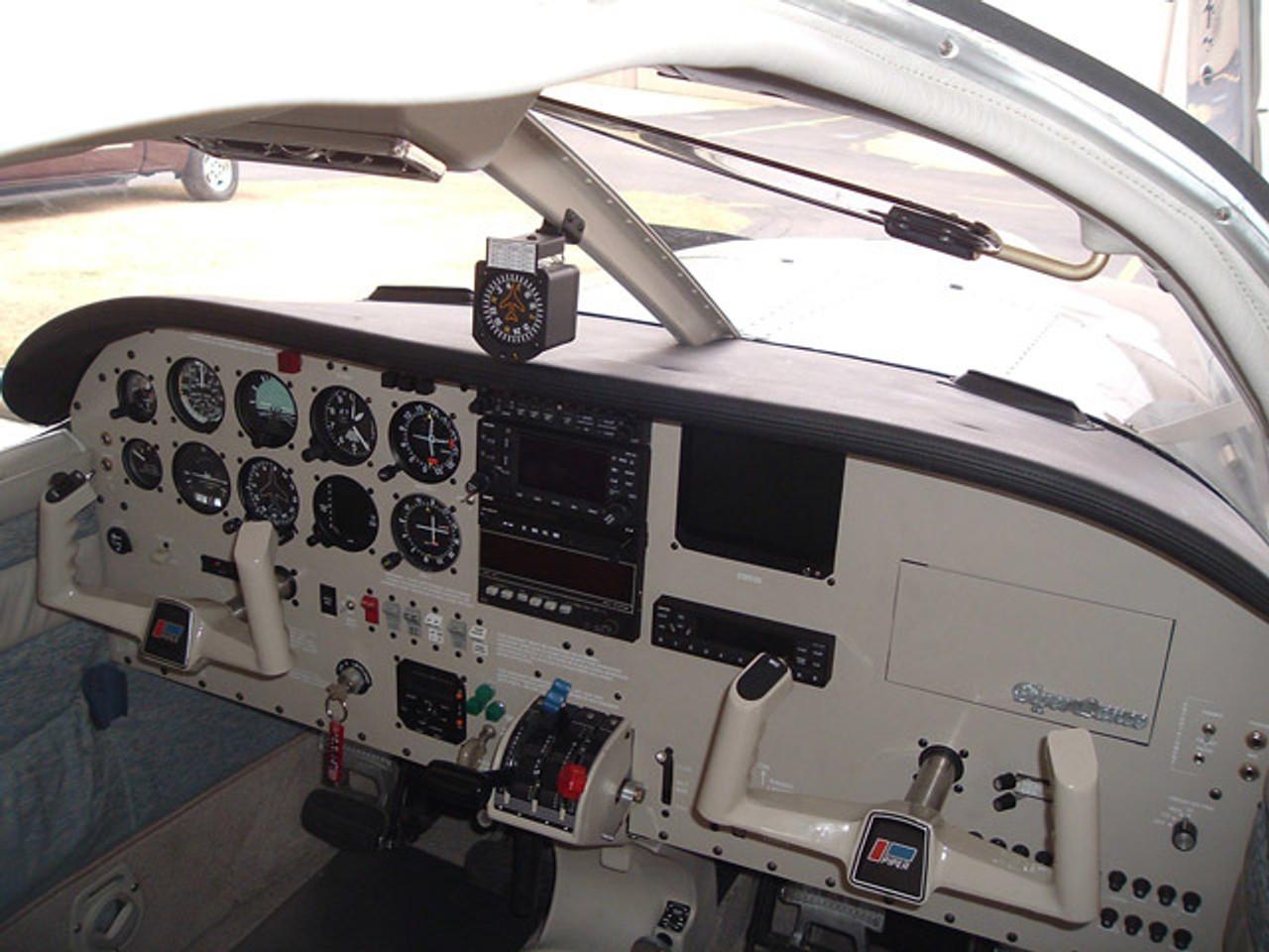 Piper PA-32 and PA-34 Glareshield  ADS-PG003