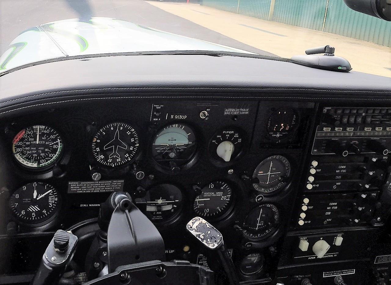 Piper PA-24, PA-30 & PA-39 Glareshield (All Models)