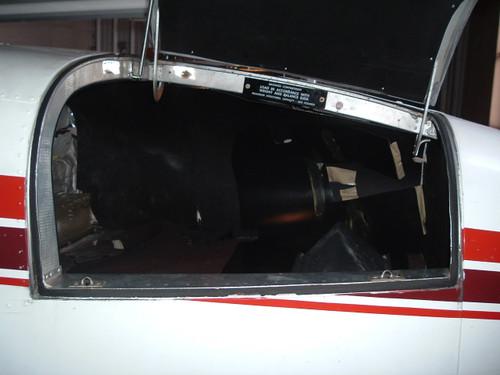 Nose baggage door seal, SELF ADHESIVE, Beech model 55, 58, 95, ADS-B250