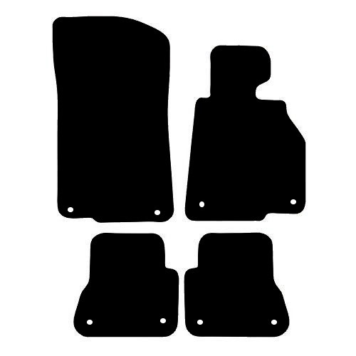BMW 3 SERIES E36 CONVERTIBLE CAR MATS 1992 TO 1998 THIS IS A FOUR PIECE SET WITH FLOOR FIXING CLIPS IN ALL FOUR MATS