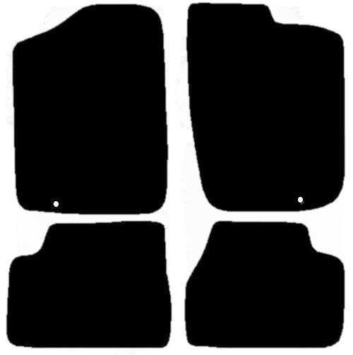 NISSAN FIGARO FITS YEARS 1991 TO PRESENT DATE THIS IS A FOUR PIECE SET WITH 1X FLOOR FIXING CLIP IN BOTH DRIVER AND PASSENGER MATS