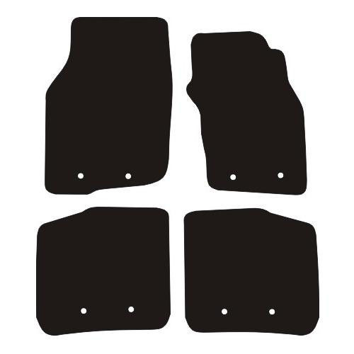 VOLVO S40 / V40 FITS YEARS 1996 TO 2004 THIS IS A FOUR PIECE SET WITH FLOOR FIXING CLIPS IN ALL FOUR MATS