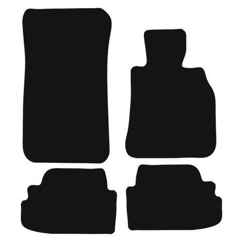 BMW 1 SERIES E82 COUPE FITS YEARS 2007 TO 2014 THIS IS A FOUR PIECE SET WITH VELCRO ATTACHMENTS
