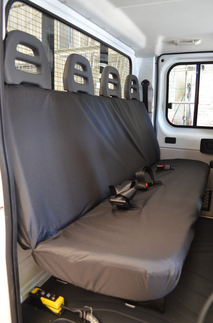 FIAT DUCATO VAN 2006 TO DATE REAR  TAILORED FOUR  SEAT COVER HEAVY DUTY