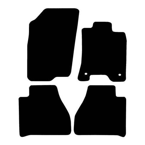 MERCEDES X CLASS FITS YEARS 2017 TO PRESENT DATE THIS IS A FOUR PIECE SET WITH FLOOR FIXING CLIPS IN THE DRIVERS MAT