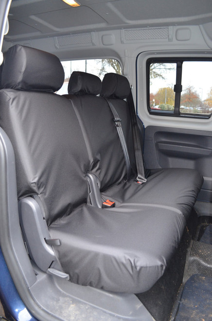 VW CADDY 2004 TO DATE 2ND ROW REAR TAILORED HEAVY DUTY SEAT COVER